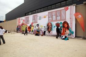 """Кетъринг оборудване под наем на """"Sofia Ring Graffiti Fest"""" 1.06.2014г."""