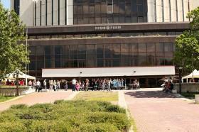 Шатри под наем пред зала 6 на НДК 7.06.2014г.