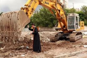 """Кетъринг оборудване под наем за """"Първа копка""""на строителен обект 20.06.2014г."""
