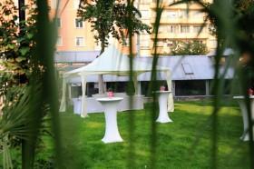 Оборудване под наем за сватба в Университетска Ботаническа градина София-25.08.2012г.