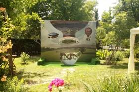 Кетъринг оборудване под наем в Университетска ботаническа градина гр. София 13.06.2015г.