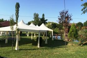 """Кетъринг оборудване за сватба на """"Езерото Казабланка – 10.07.2015г."""
