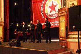 ЦСКА награждава най-добрите от всички свои спортни клубове за 2015-та година.– 26.1.2016г.