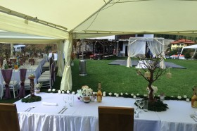 Кетъринг оборудване за сватба в с.Триград – 26.08.2016г.