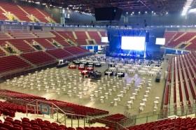 Кетъринг оборудване – зала Арена Армеец – 2.03.2017г.