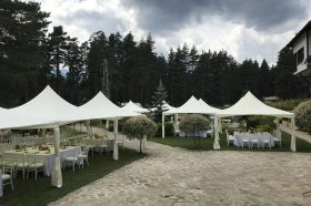 Кетъринг оборудване за сватба – Ten Houses Hotel (България Говедарци)