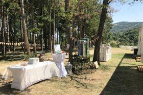 Кетъринг оборудване за сватба – с. Куклен